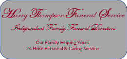 Harry Thompson Funeral Service
